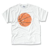 The Word In Basketball Tee Shirt,  Youth Large