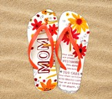 Mom Flip Flops, Small, Size 5-6