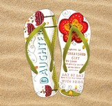 Daughter Flip Flops, Small, Size 5-6