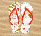 True Friend Flip Flops, Small, Size 5-6