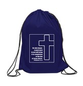 The Way Forward Drawstring Bag