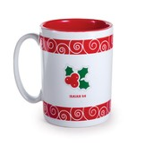 Holly & Berries, Prince of Peace Mug
