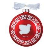 Dove, Glory To God Ornament