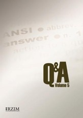 Q&A (Question and Answer) Volume V - Columbia University II, DVD
