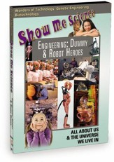 Technology: Engineering: Dummy & Robot Heroes DVD
