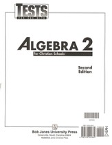 BJU Math 11: Algebra 2 Tests