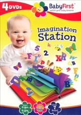 Baby First: Imagination Station, 4-DVD Set