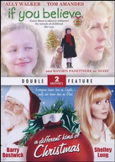 If You Believe & A Different Kind of Christmas, Double  Feature DVD