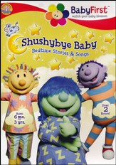 Shushybye Baby: Bedtime Stories and Songs, DVD