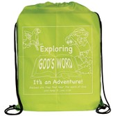 Exploring Gods Word Drawstring Bag