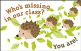 Billboard - Who's Missing in Our Class Postcards, 25