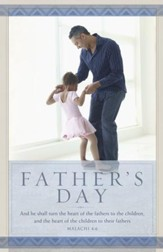 Father's Day - Malachi 4:6 (Malachi 4:6, KJV) Bulletins, 100