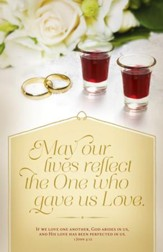 Communion - The Lord's Supper (1 John 4:12, KJV) Bulletins, 100