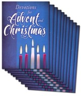 Advent Devotional Booklet, Pack of 10
