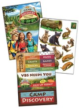 Camp Discovery Decorating Posters, pack of 3