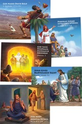 Camp Discovery VBS 2015: Bible Story Posters, Pack of 5 (22' x17')