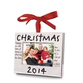 Christmas 2014 Photo Frame Ornament