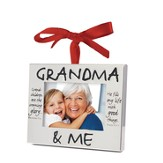 Grandma and Me Photo Frame Ornament