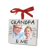 Grandpa and Me Photo Frame Ornament