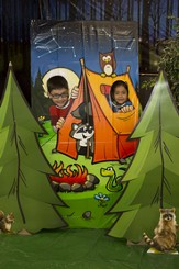 Camp Discovery VBS 2015: Camp Adventure Photo Op (36 x 72)