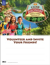 Camp Discovery VBS 2015: Camp Discovery Publicity Poster