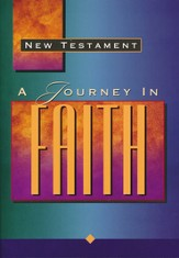 New Testament A Journey in Faith - NKJV  - Slightly Imperfect