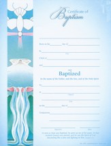 Certificate of Baptism, Pack of 25
