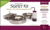 RemembranceWare ® Communion Starter Kit, Silver