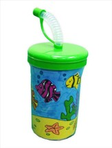 Búsqueda Submarina / Underwater Quest DIY Plastic Cup, Vaso Para Colorea Pack of 12