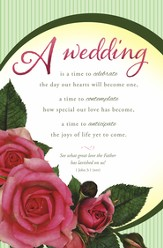 A Wedding Is (1 John 3:1, NIV) Bulletins, 100