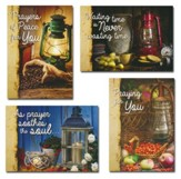 Lighting the Way (KJV) Box of 12 Assorted Praying for You Cards