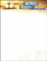 The Lord is Risen (Luke 24:34) Letterhead, 100