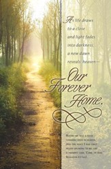 Our Forever Home (Revelation 4:1, NIV) Bulletins, 100