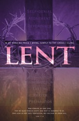 Lent (Luke 11:4) Bulletins, 100