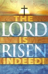 The Lord Is Risen (Luke 24:34) Bulletins, Pack of 100