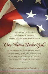 One Nation Under God (Psalm 33:12) Bulletins, 100