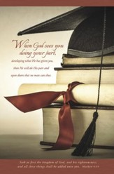 Graduation (Matthew 6:33) Bulletins, 100
