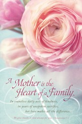Mother Heart of Family (1 Thessalonians 1:2) Bulletins, 100