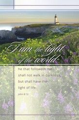 I Am the Light (John 8:12) Bulletins, 100