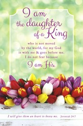 Daughter of a King (Jeremiah 24:7) Bulletins, 100