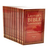 Layman's Bible Commentary Set, 12 Vols