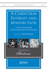 Christmas Introit And Benediction / SATB