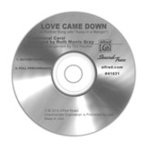 Love Came Down / Sound Track CD