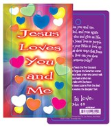 Valentine Three Dimensional Bookmark 1 John 4:8 (KJV)