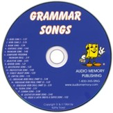 Audio Memory Grammar Songs CD Only