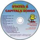 Audio Memory States & Capitals CD Only