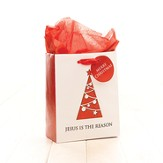 Jesus Is the Reason Gift Bag, Red, Small