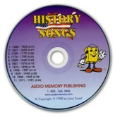Audio Memory History Songs CD Only