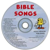Audio Memory Bible Songs CD Only