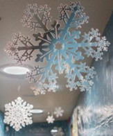Everest VBS 2015: Die-Cut Snowflakes, Set of 9